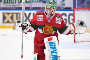 Vågar Mora satsa på Isak Wallin som förstemålvakt i hockeyallsvenskan? Foto: Daniel Eriksson/Bildbyrån