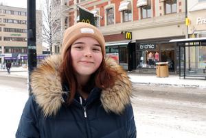 Linda Holtermann, 16 år, Örebro– Jag tänker att det viktigt är att det är bra för de äldre. Man hör mycket om hur det är för äldre, och jag har ju själv farfar, och de måste ha det bra.