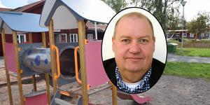 Jan Wiklund berättar att Gagnefs förskolekostnader ligger 15,3 procent över riksgenomsnittet.