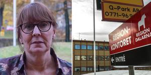 Regiondirektör Karin Stikå Mjöberg.