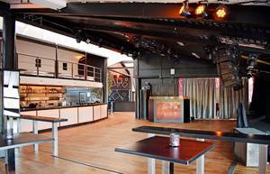 Dansgolvet och baren inne på XS Nightclub i Sälen som max kan ta 900 personer.