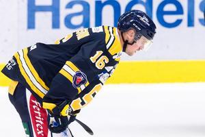 SSK:s Stefan Johansson är ett frågetecken inför söndagens derby mot AIK på Hovet. Foto: Dennis Ylinkangas/Bildbyrån.