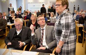 Elvy Söderström (S) har en diger dagordning att lotsa i hamn som fullmäktiges ordförande.