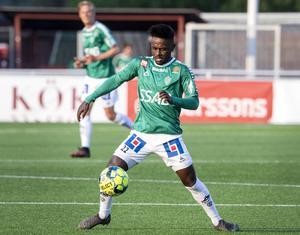 Brages Kristian Andersen gjorde sitt första mål för säsongen mot Mjällby.