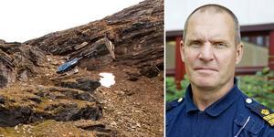 Arkivbild: Mittmedia. Peter Borg, samordnare vid fjällräddningsinsatser vid Polisen i Jämtland.