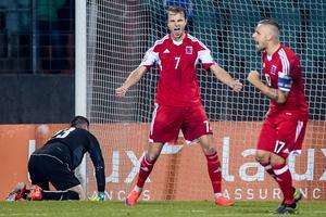 Gerson blev målskytt i kvalmötet med Slovakien.