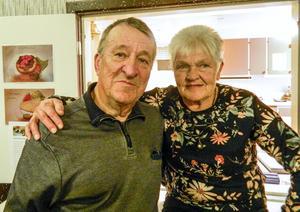 Per Svensson och Marianne Levin är årets SPF-boulemästare i Ytterberg. Fotograf: Lennart Svensson