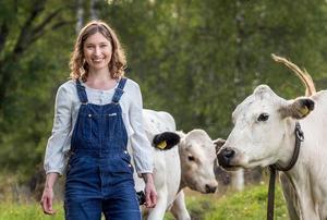 Ulrika Bodén växte själv upp på en getfarm och vet hur nykokt mesost smakar. Bild: Leif Wikberg