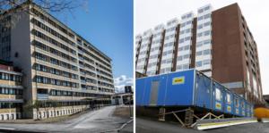 Östersunds sjukhus är det enda i ett sort län. Sollefteå tillhör Västernorrland där har man flera sjukhus., skriver