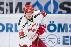 Patrik Karlkvist noterades för en assistpoäng på bägge Erikssons mål mot Pantern. Bild: Johan Löf/Bildbyrån