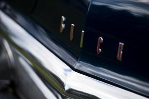 Många klassiska bilmärken är representerade under helgen.