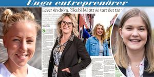 """Helena Nyman, chefredaktör på Falu Kuriren och ansvarig utgivare för dt.se, berättar om vår nya artikelserie """"Unga entreprenörer i Dalarna""""."""