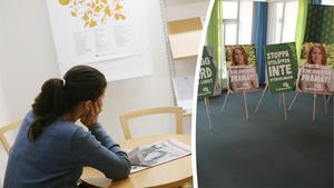 En nyanländ i arbete bidrar till det svenska samhället. Idag tar den resan för lång tid, Centerpartiet har en rad förslag, skriver Anne-Li Sjölund (C). Bilder: Janerik Henriksson/TT /  Henrik Montgomery/TT
