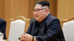 Kim Jong Un, Nordkoreas ledare.