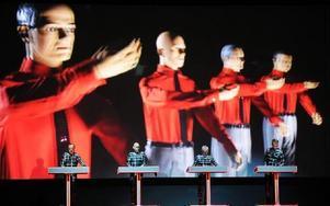 Kraftwerk kommer till Dalarna med sin 3D-konsert. Foto: Steffen Schmidt