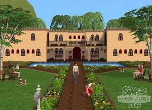 SISTA PAKETET. Snart kommer Sims 3. De som inte kan vänta hinner köpa prylpaketet herrgård och trädgård till Sims 2.