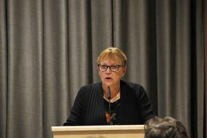 Maud Jonsson, (L), tyckte 13 år som partiordförande i Ljusdal räckte.