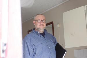 Sam Hamberg, fastighetschef i Skinnskattebergs kommun. Foto: Elin Hofferek