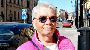 Gun Rohlertz, 75 år, pensionär, Östermalm: