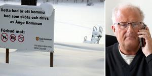 När kommunstyrelsen med Sten-Ove Danielsson (S) i spetsen tog beslut om att säga nej till Mid Adventures föreslagna lösning på Backetjärnsaffären så var redan en arbetet med att stycka  av badplatsen påbörjad.
