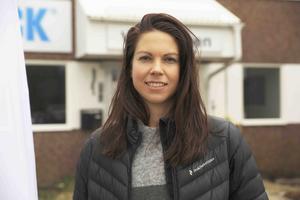 Hanna Månsson, logistikspecialist på Nord-Lock i Halabacken.