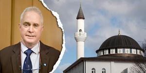 Mark Collins (SD) vill bygga upp en infrastruktur för att muslimerna ska stanna i Norrland. Foto: Lisa Selin / TT
