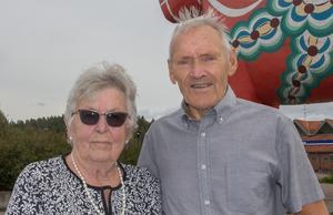 Ingrid och Lars-Åke Hedlund är stolta morföräldrar till världens bästa stavhoppare, Armand Duplantis.