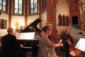 Trio gånger tre: Charlotte Häggström, Åke Hedman, och Otto Ratz
