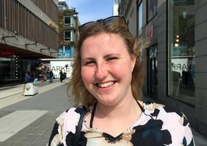 Johanna Westerblad, 21 år, butikssäljare, Malmö