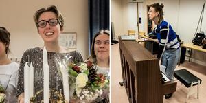 Femtonåriga Miranda Lönnström från Roslagsskolan är årets lucia i Roslagen.