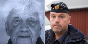 Saknade Lisbeth Berntsson och polisen Christer Höglund.