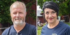 Per-Arne Andersson (M) och Anna Kramer (M).
