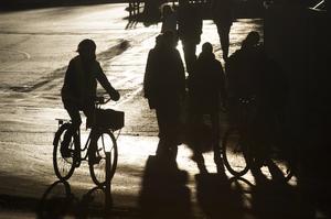 I det område där jag bor ser jag vuxna och föräldrar som är dåliga förebilder och som bryter mot trafikregler, skriver signaturen BJ. Bilden har inget direkt samband med insändaren. Foto: Fredrik Sandberg/TT