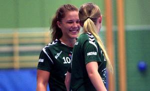 Amanda Hanning utsågs till matchens lirare i Alfta.
