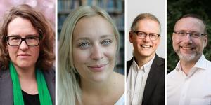 Miljöpartisterna Camilla Hansén, Katarina Folkeson. Mats Gunnarsson och Marcus Willén Ode skriver om att sänka rösträttsåldern.