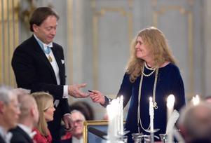 Akademiledamöterna Horace Engdahl och Kristina Lugn finns bland undertecknarna av det öppna brevet. Arkivbild.Foto: Henrik Montgomery/TT