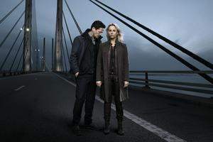 Henrik (Thure Lindhardt) och Saga (Sofia Helin) i den sista säsongen av