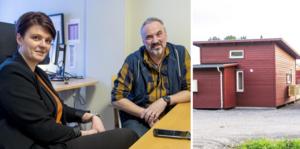 Från den 1 mars gäller 30 kvadratmeter vid bygge av attefallshus när det ska användas som åretrunt bostad eller som fritidshus.  Byggnadsinspektören Richard Hvirfvel och bygglovchefen Alexandra Lagerlund på bygglovsavdelningen på Sundsvalls kommun reder ut reglerna.