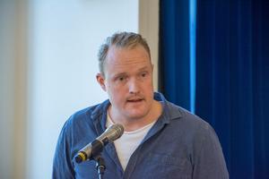 Niklas Daoson (S), Östersunds oppositionsråd.