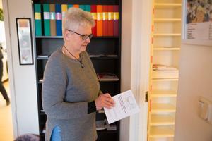 Lotta Ferrer är Frivilligcentralens samordnare och beskriver verksamheten som en social oas för seniorer.