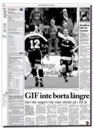 ST 17 september 2001.