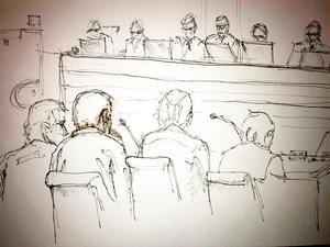 Illustration: TT. Rättegång inleds mot den terroristmisstänkte Rakhmat Akilov efter dådet på Drottninggatan förra våren.