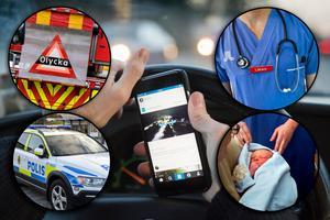Foto/ montage: TT Nyhetsbild.Regeringen backar om mobillagen – lista: Här är de som undantas