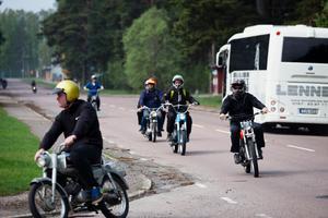 Start och mål var vid fritidsgården Knuten i Kvarnsveden.