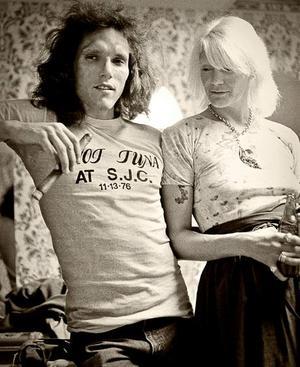 Jorma och Margareta Kaukonen på en bild från 1976.
