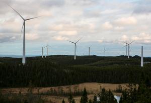 Nu har det juridiska klartecknet för 40 vindkraftverk på Ranasjöhöjden kommit. Foto: Andreas Gabrielsson.