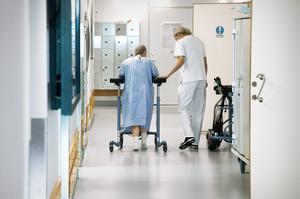 Sjuksköterskornas ställning och deras antal inom vården har stärkts de senaste åren. Allt å bekostnad av bland annat undersköterskorna. FOTO: Claudio Bresciani/TT