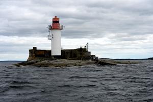 Den mytomspunna Draghällans fyr var simgruppens mål under onsdagens äventyr.