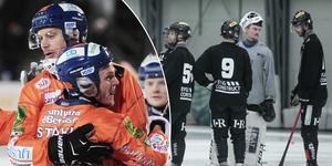 Patrik Nilsson gjorde tre mål i första halvlek – två av dessa fri med Erik Persson i Sirius mål.