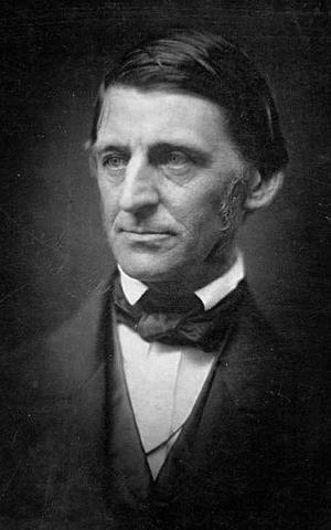 Ralph Waldo Emerson 1857. Foto: Okänd